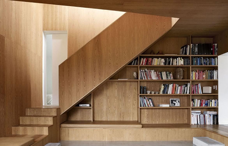 escadas em madeiras e escadas interiores